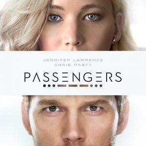 Passengers movie film poster