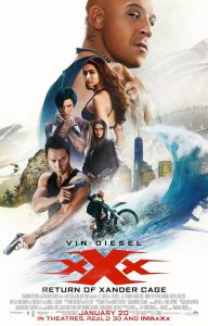 xXx: The Return of Xander Cage film poster