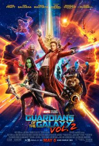 Guardians of the Galaxy Volume 2 (2017) film poster