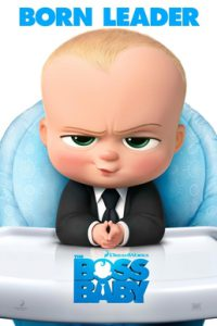 The Boss Baby 2017 film poster