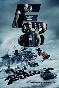 Fast & Furious 8 film poster