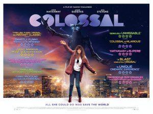 Colossal film poster UK