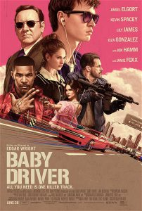 Baby Driver 2017 Film Poster