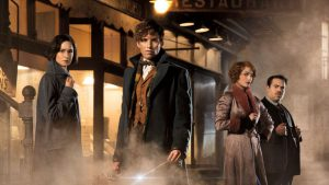 Katherine Waterstone, Eddie Redmayne, Alison Sudol, and Dan Fogler return to the Wizarding World in a sequel to Fantastic Beasts and Where to Find Them
