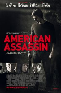 American Assassin film poster 2017