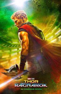 Thor Ragnarok film poster 2017