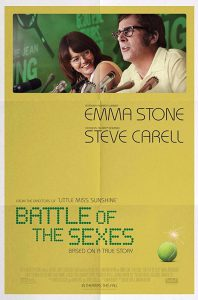 Battle of the Sexes Film Poster 2017