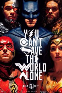 Justice League Film Poster 2017