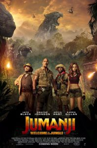 Jumanji: Welcome to the Jungle film poster 2017