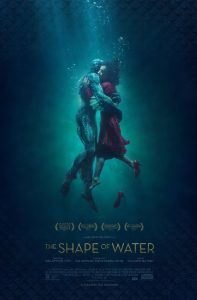 The Shape of Water Film Poster 2018