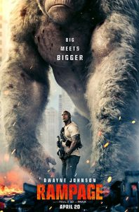 Rampage film poster 2018