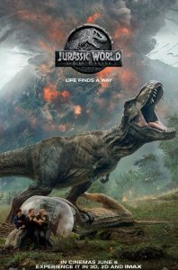 Jurassic World Fallen Kingdom Film Poster 2018