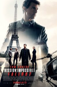 Mission Impossible Fallout Film Poster 2018