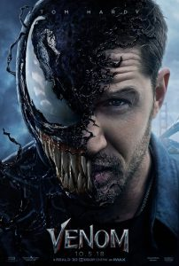Venom Film Poster 2018 Tom Hardy