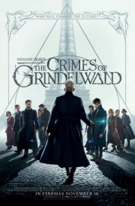 Fantastic Beasts - The Crimes of Grindelwald film poster