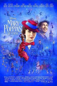 Mary Poppins Returns 2018 - film poster