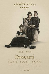 The favourite - film poster