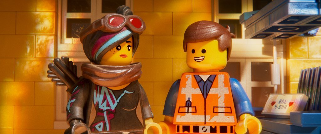 Lego Movie 2 - Lucy aka Wyldstyle with Emmet