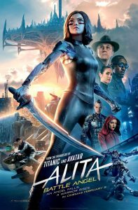 Alita Battle Angel film poster 2019
