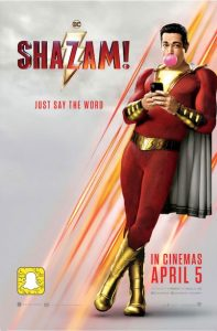 Shazam 2019 film poster