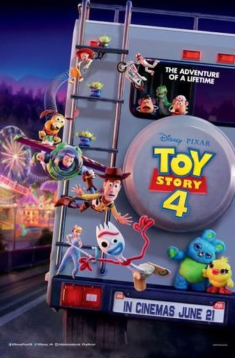 Toy Story 4 2019 Film Poster