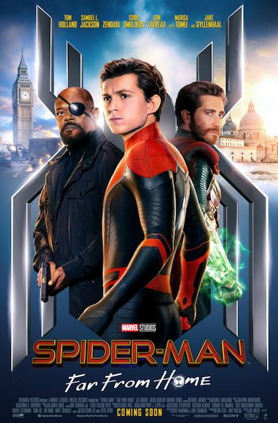 Spider-man Far From Home Film Poster 2019