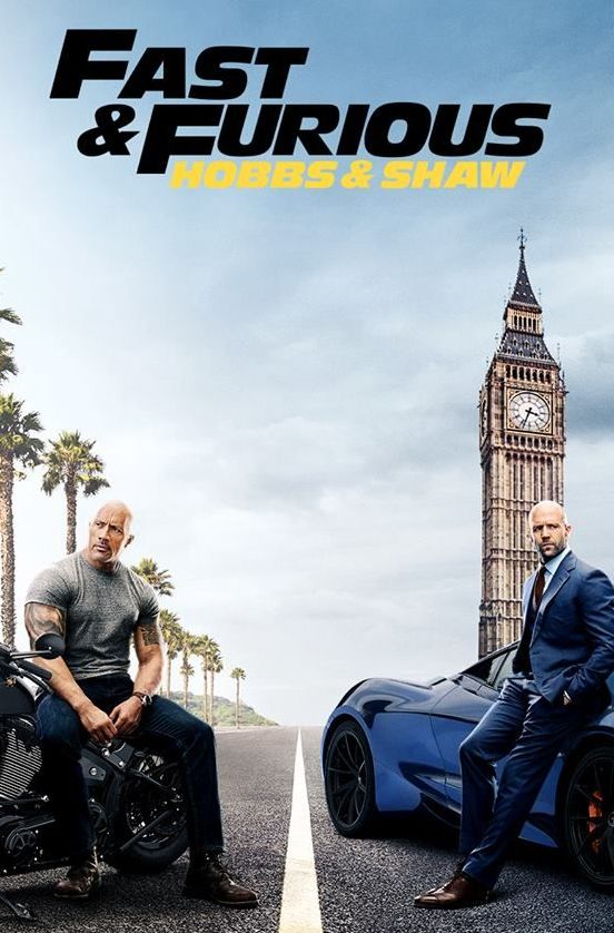 Hobbs and Shaw film poster 2019