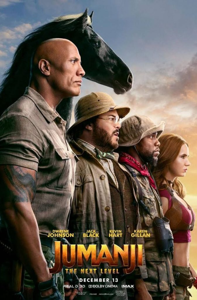 Jumanji The Next Level 2019 Film Poster