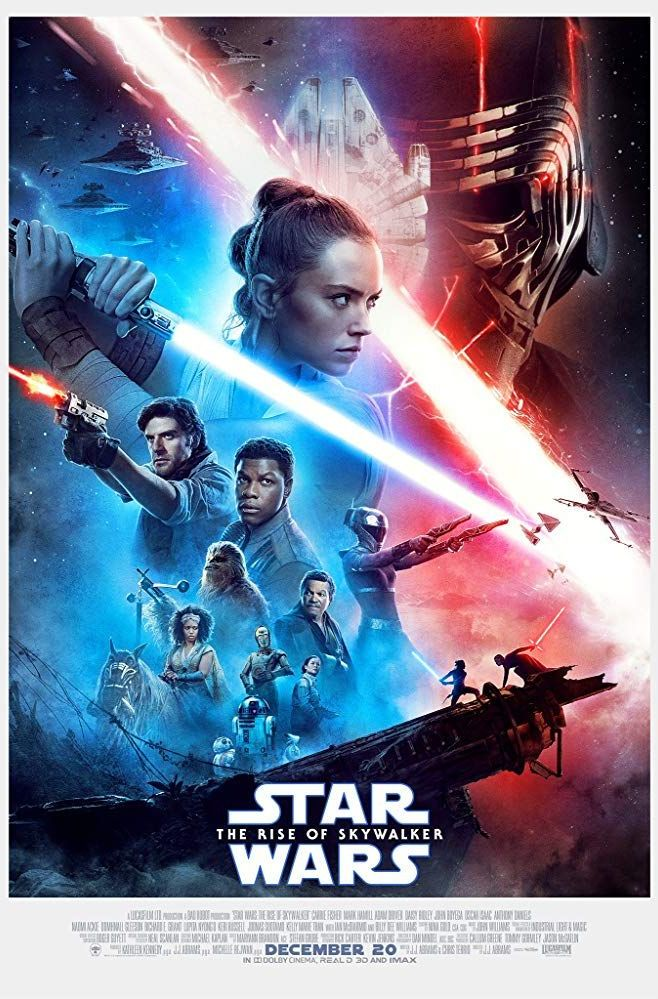 Star Wars - The Rise of Skywalker - Film Poster 2019